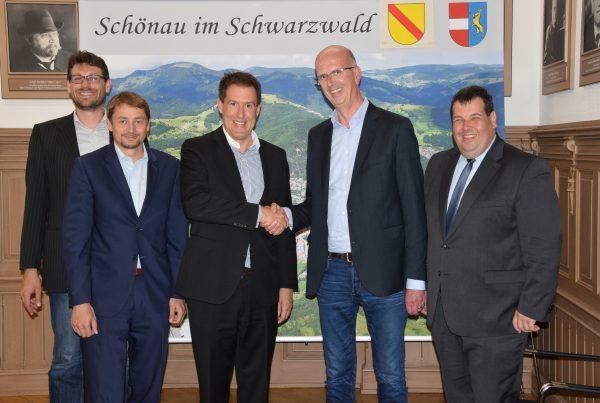Präsentation Stiegeler IT als zweiter Anbieter für das Glasfasernetz im Landkreis Lörrach