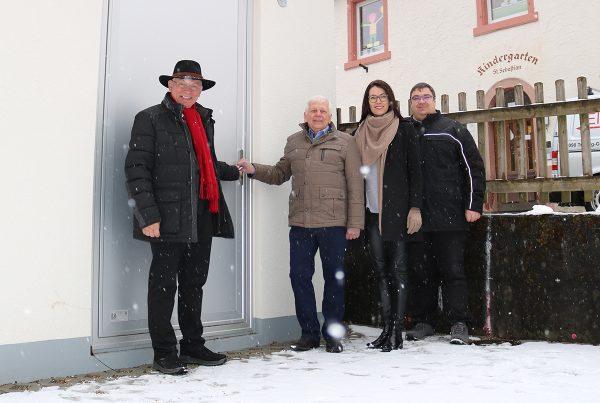 Das Ortsnetz in Nußbach wurde offiziell in Betrieb genommen.