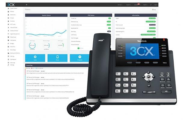 3CX ist die Telekommunikationslösung mit zahlreichen Features, die das tägliche Arbeiten erleichtern.