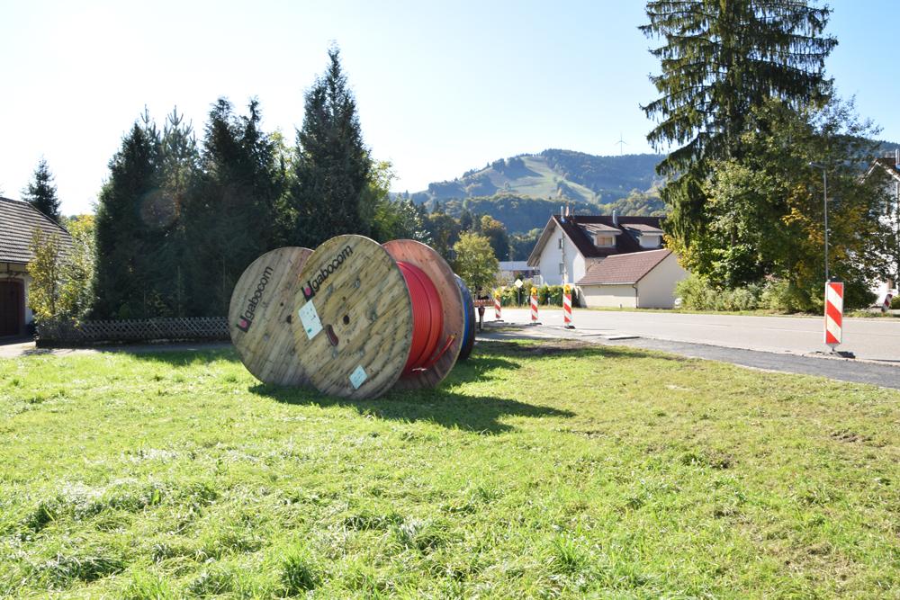 Das Gewerbegebiet von Bad Bellingen ist einer der ersten Orte, der bald über das Glasfasernetz im Landkreis Lörrach versorgt wird.