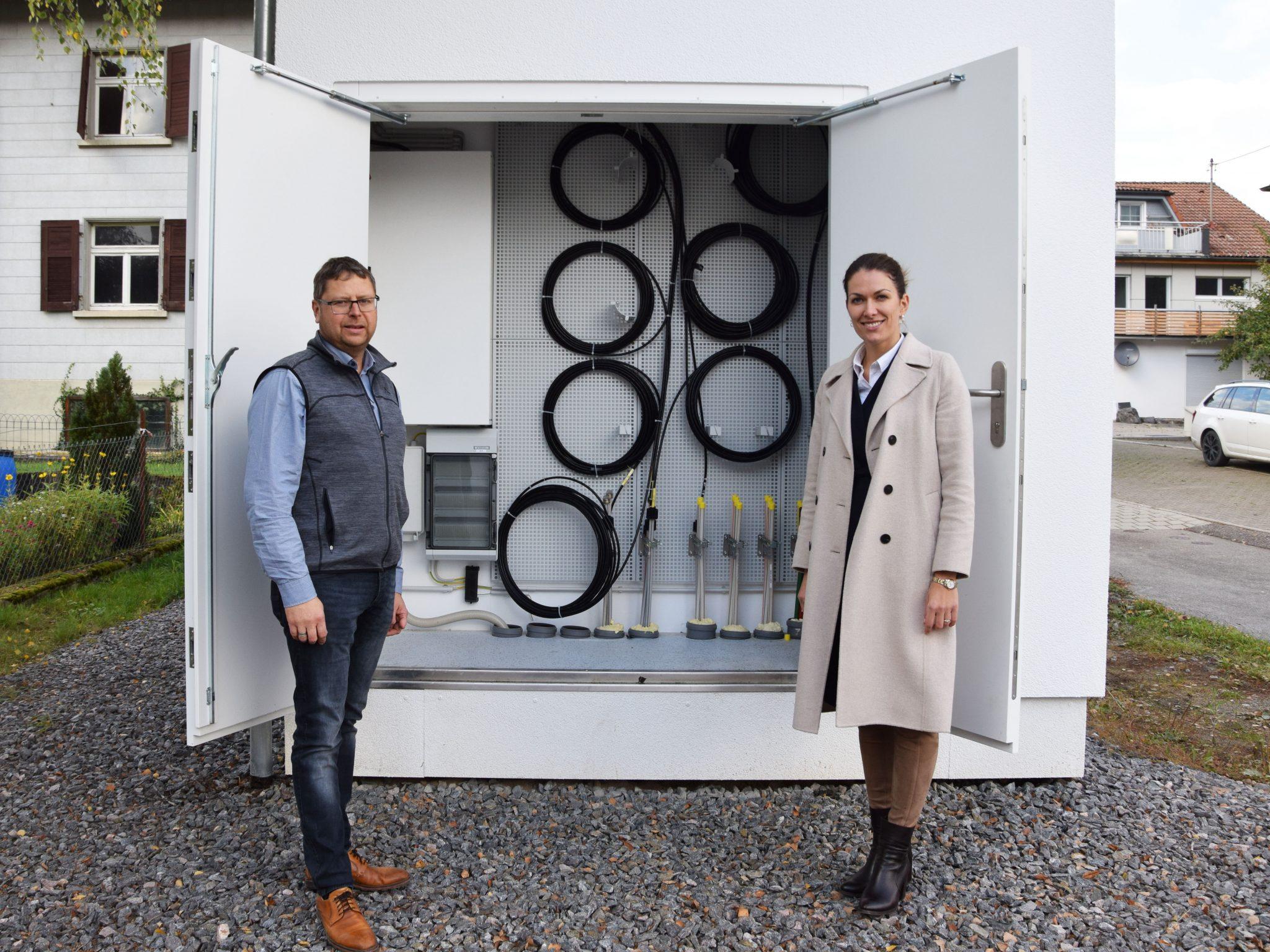Inbetriebnahme des Glasfasernetzes Ober-/Untermettingen