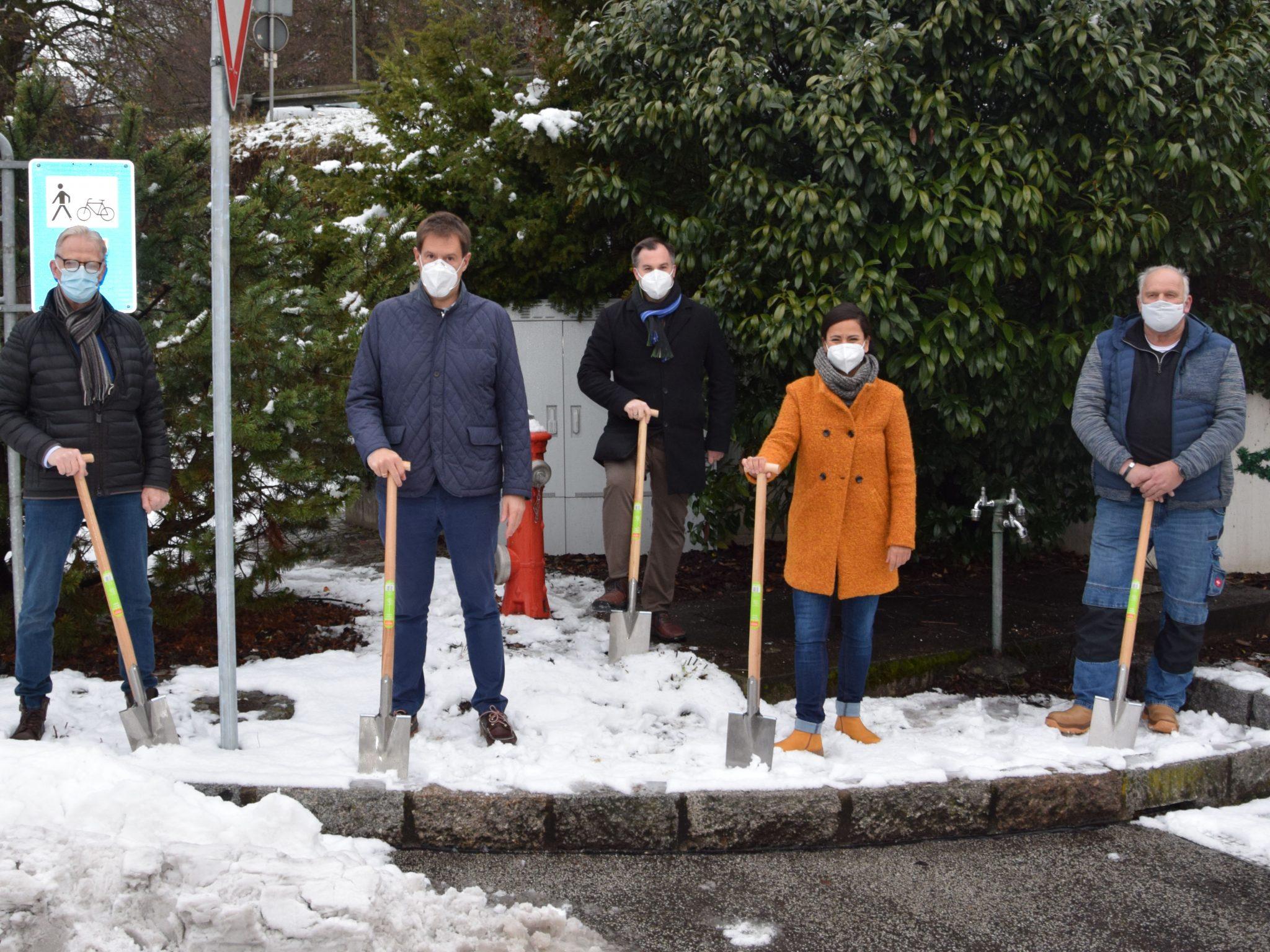 Tiefbauarbeiten in Laufenburg haben begonnen