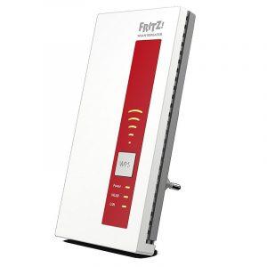 Die fünf Feldstärke-LEDs des FRITZ!WLAN Repeater zeigen, wie stark das WLAN-Signal am gewählten Standort ist
