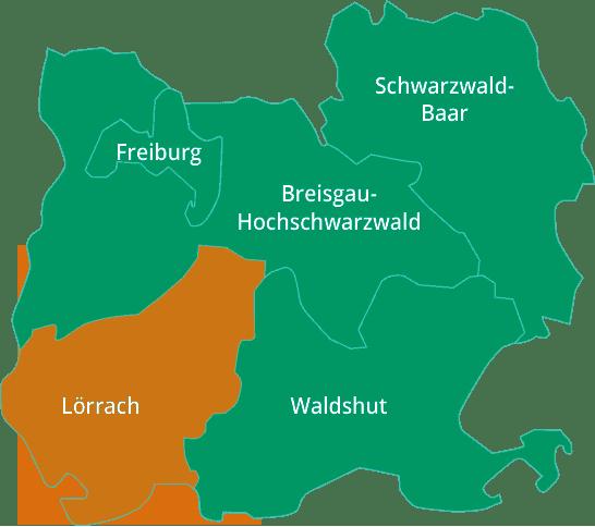 Stiegeler IT |Versorgungsgebiet Landkreis Lörrach