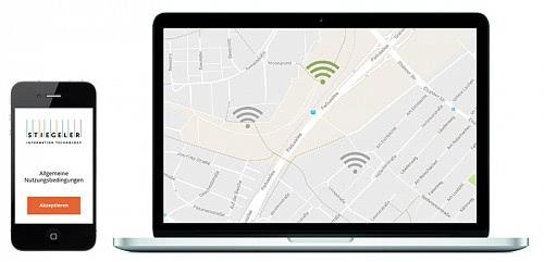 Die Hotspot-Lösung von Stiegeler IT ermöglicht Free WiFi an unterschiedlichsten Orten, im Haus und außerhalb.